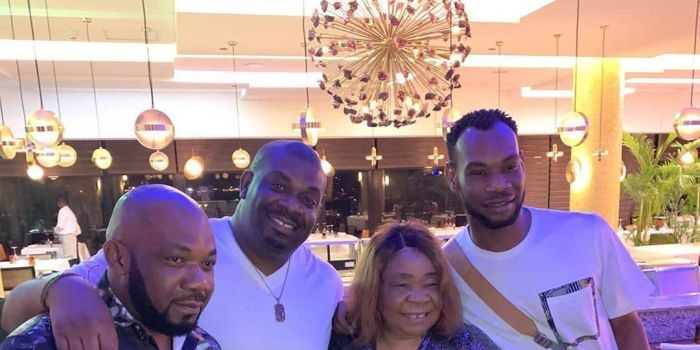 Don Jazzy, D'Prince And Their Siblings Celebrate Their Mother's Birthday In Lagos (Photos) 16