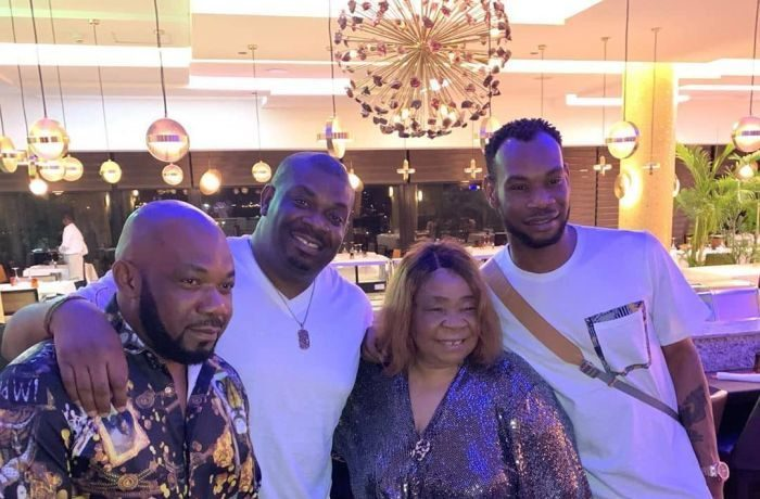 Don Jazzy, D'Prince And Their Siblings Celebrate Their Mother's Birthday In Lagos (Photos) 1