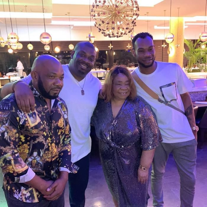 Don Jazzy, D'Prince And Their Siblings Celebrate Their Mother's Birthday In Lagos (Photos) 2