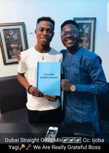 OGBOMOSO TO THE WORLD!! Zakizzy Signs A Record Deal With Dubai,  Floating Entertainment Records  (Photos) 4