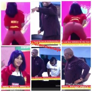 Mercy Twerks For Don Jazzy On BBNaija, He Comments About Her Pants