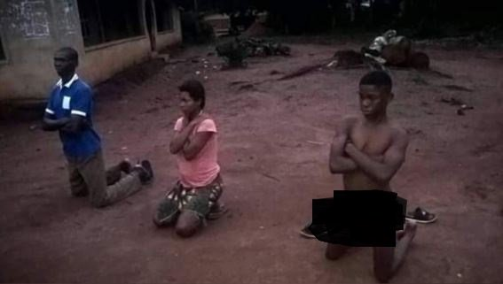 Man And Son Disgraced For Impregnating Daughter In Imo State (Photos) 12