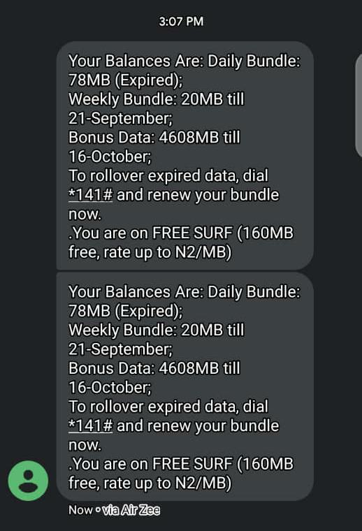 Get 23GB For #1000 And 4GB For #200 Only Airtel User