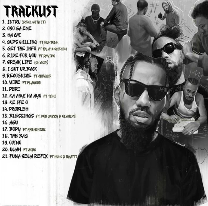 FULL ALBUM : Phyno - Deal With It (Featuring, Olamide, Don