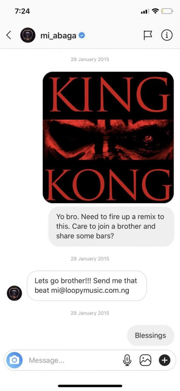 Vector Leaks MI Abaga's Chat With Him (Screenshots) 3