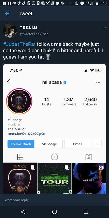 Vector Leaks MI Abaga's Chat With Him (Screenshots) 4