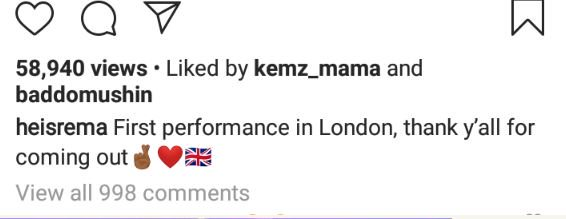 Don Jazzy's Artiste, Rema, Performs For The First Time In London (Photos) 5