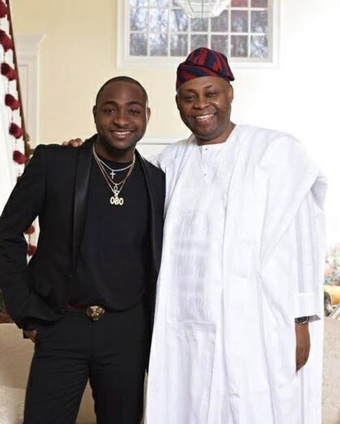 Image result for davido and dad