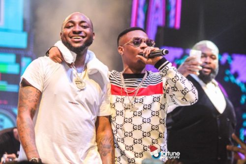 It's Time For You To Give Birth To A Girl – Davido Tells Wizkid After Birth Of His Son 1