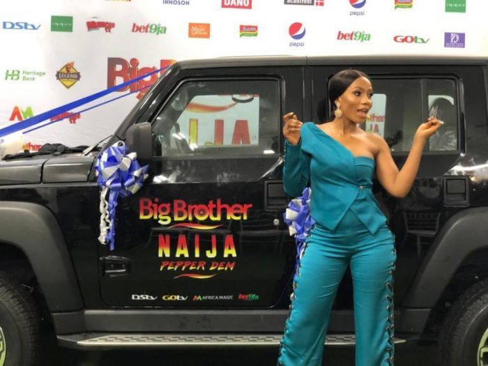 BBNaija Winner, Mercy Reveals How She Felt When Tacha Was Disqualified From The Show 2