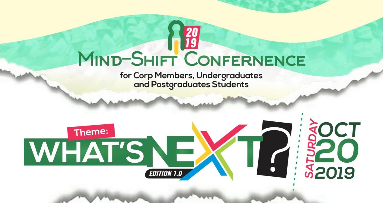 Hot!!! Mind-Shift Conference Live on 20th Oct >> Ibadan City