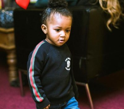 """Watch Wizkid's Son; Zion, Dancing To Naira Marley's """"Soapy"""" 20"""