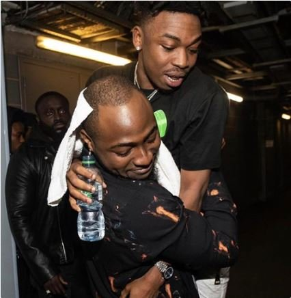 I'm The Proudest Big Brother, Friend, And Fan Right Now – Davido Celebrates Mayorkun In London (Photo) 1