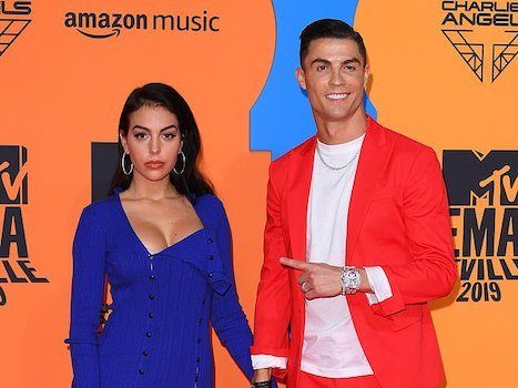 WORLD BEST!!! Ronaldo And His Girlfriend Turned Up For MTV EMA (Photos) 1