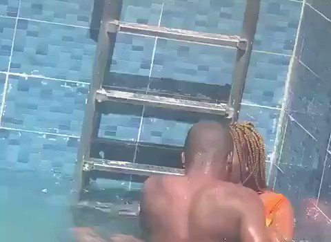 Two EKSU Student Caught On Camera Having S*x In A Pool (Video) 4