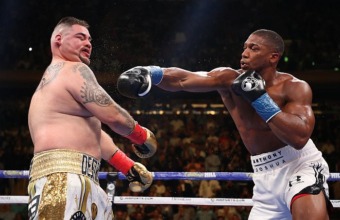 Anthony Joshua Painfully Mocks Andy Ruiz After Defeat (See What He Did) 1