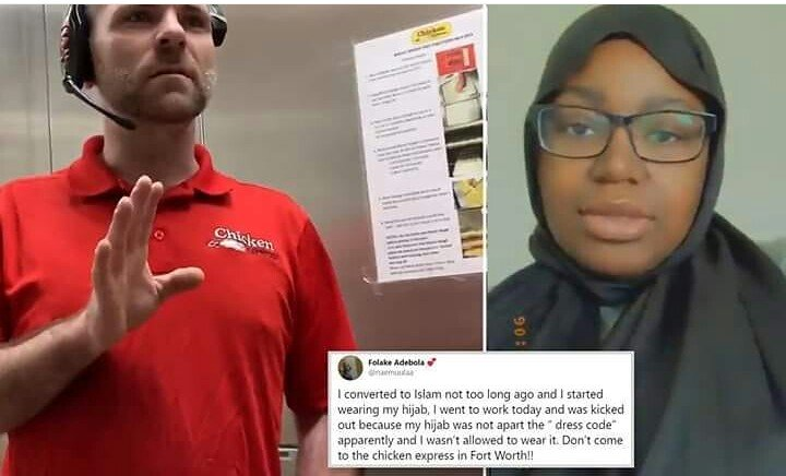 Nigerian Lady Sent Home From Work In US For Wearing Hijab (Photos) 1