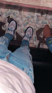 Singer Davido Posts Photo of Himself Stepping on a Pool of Nigerian Currency (See Photos) 2