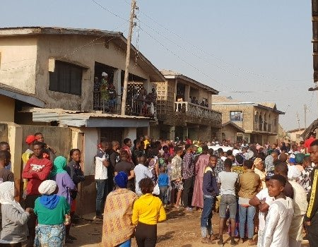 SO SAD!! Parents Lose All Their Children In Fire Outbreak In Ibadan (Read Details) 1
