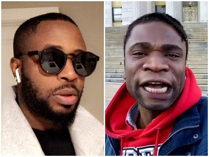 VERY SERIOUS!! I Will Get You Deported – Speed Darlington Warns Tunde Ednut (See What Happened) 1