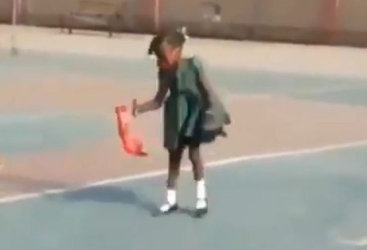 """MARLIANS!! We Found Naira Marley's Daughter Doing The """"Soapy"""" Dance (Watch Video) 1"""
