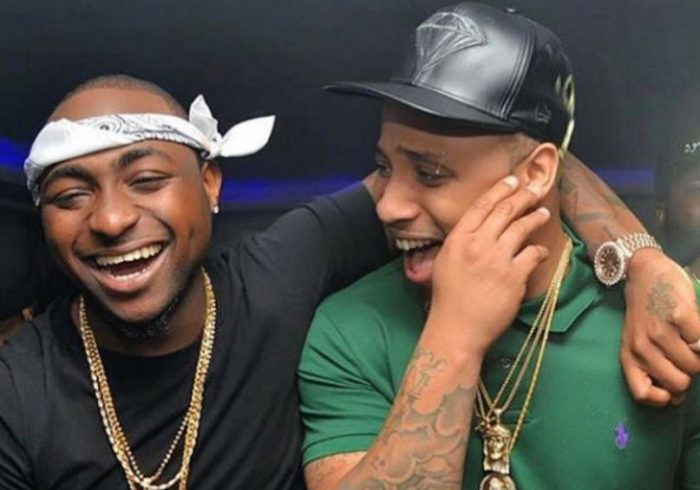 WAWU!!! Davido Shares Video Of Himself And BRed Attending Bible Study In A Church (Watch Video) 1