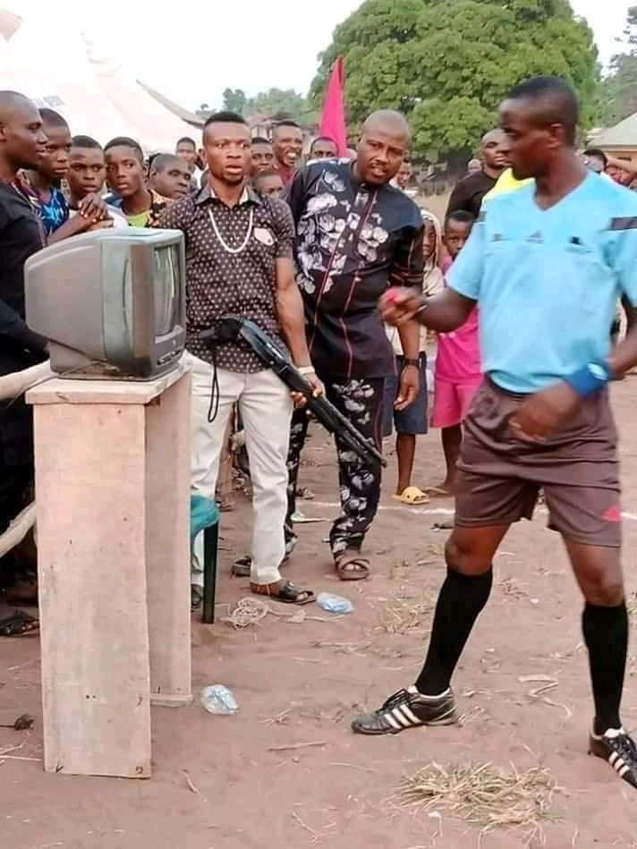 How 'FIFA VAR' Was Introduced In Village Football Competition In Imo State (Photos) 1