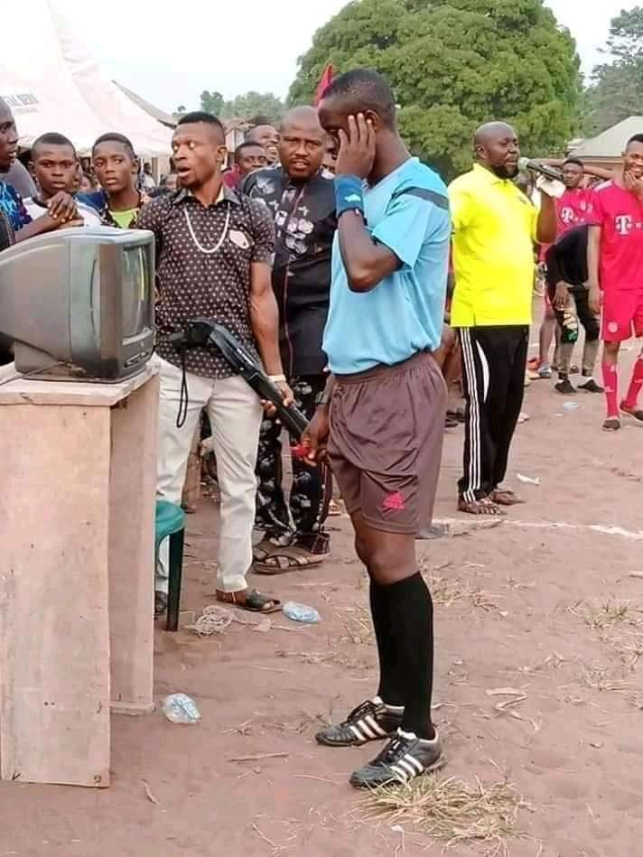 How 'FIFA VAR' Was Introduced In Village Football Competition In Imo State (Photos) 3