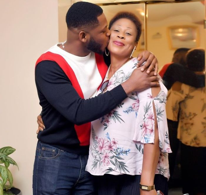 SO LOVELY!!! Frodd Shows Off His Mum And Showers Her With Love On Her 50th Birthday 1