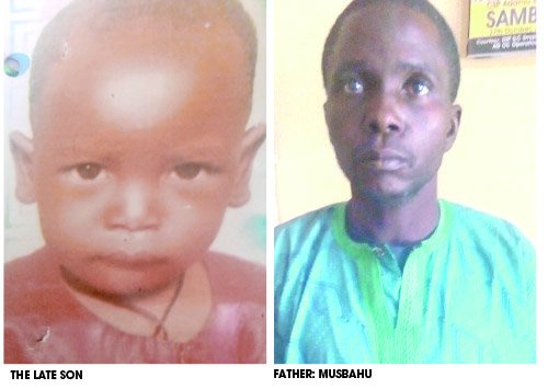 Shocking Story Of Man Who Killed His Son, Secretly Buried Him And Lied To Cover Up Crime In Kano 1
