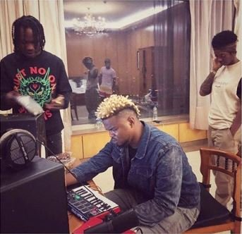 MARLIAN!!! Naira Marley Spotted In The Studio With Tiwa Savage As They Are Set To Release First Single Of The Year 1