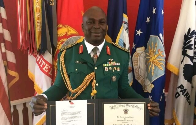 Nigerian Army General Detained After $16m Was Found In His Wife's Account (Photo) 1