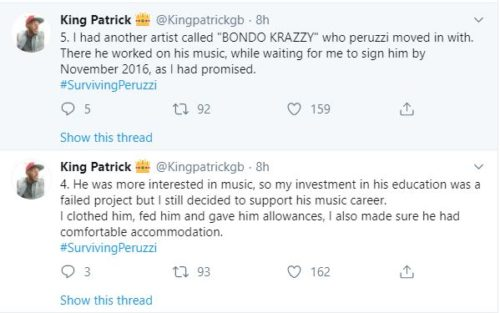 """""""Davido & Peruzzi Are After My Life After Betraying Me""""- Golden Boy CEO; Patrick Cries Out 3"""