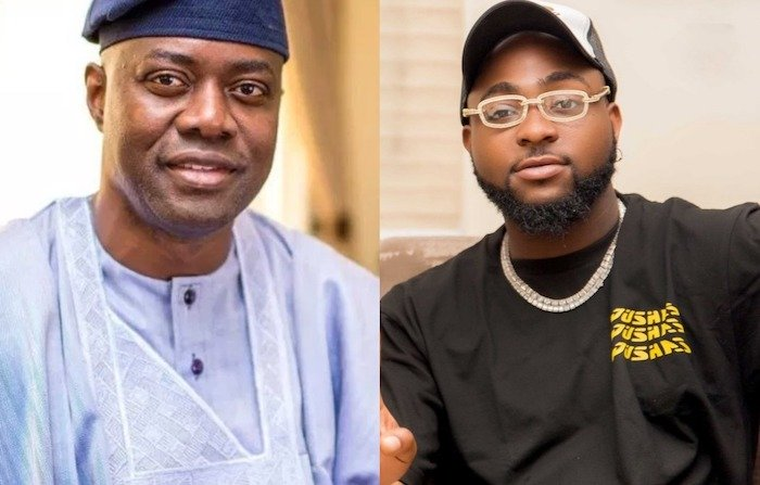 Davido Declares Oyo State Governor, Seyi Makinde As The Best Governor In Nigeria – DO YOU AGREE?