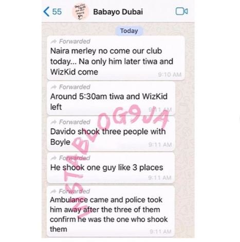 Davido Arrested In Dubai For Stabbing Abul Abel's Younger Brother (Read Full Gist) 2