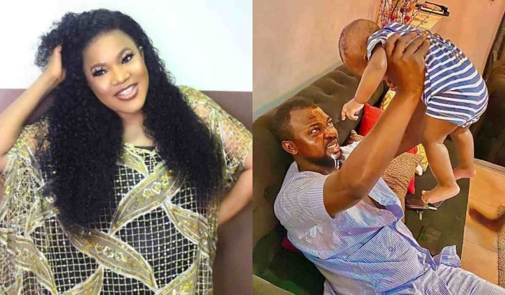 'It Feels So Special Seeing My Baby Vomit On My Husband' – Toyin Abraham 1