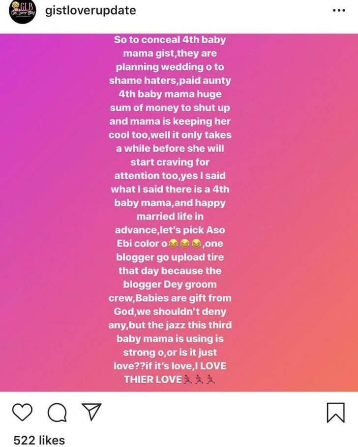Is Davido Expecting Another Child With 4th Babymama? – Blogger, Gistlover Reveals Shocking Details (A MUST SEE) 2