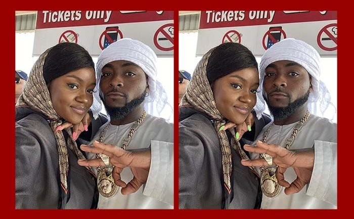 FREE EYE TEST! If You Can You Spot The Difference In This Davido & Chioma's Picture, Your Sight Is Okay (SEE PHOTO) 2