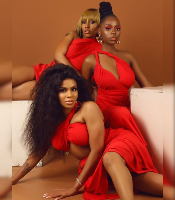 Mercy, Diane & Venita Poses For Shares New Valentines Pictures (You Will Love Them) 1