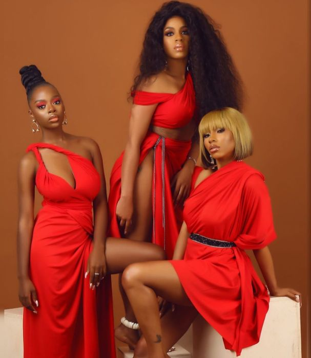 Mercy, Diane & Venita Poses For Shares New Valentines Pictures (You Will Love Them) 4