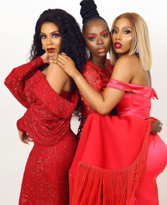 Mercy, Diane & Venita Poses For Shares New Valentines Pictures (You Will Love Them) 5