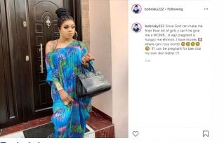 I Want God To Give Me A Womb – Bobrisky Make Special Prayer Request 2