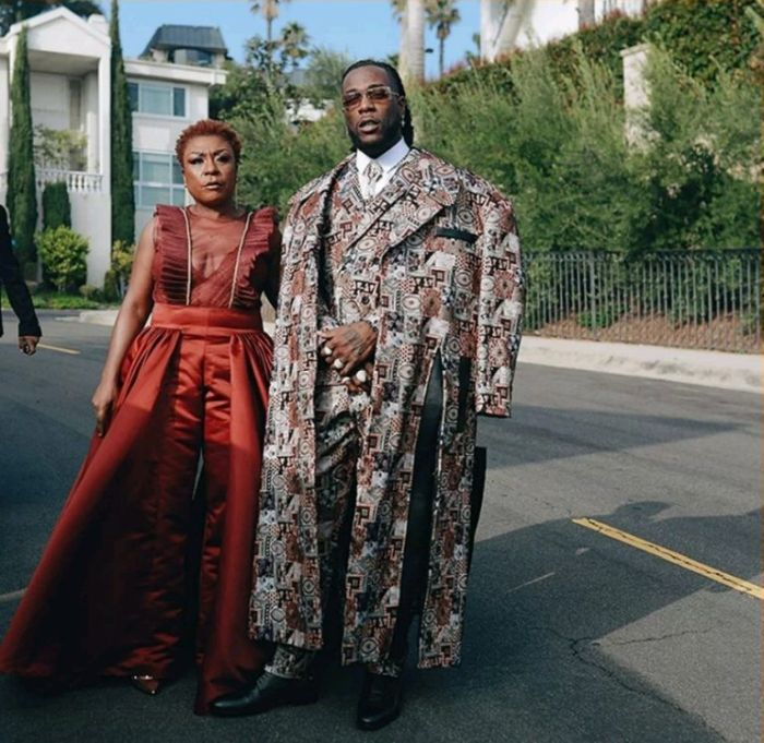 AFRICAN GIANT!!! Burna Boy Releases New Lovely Picture With His Mum 1