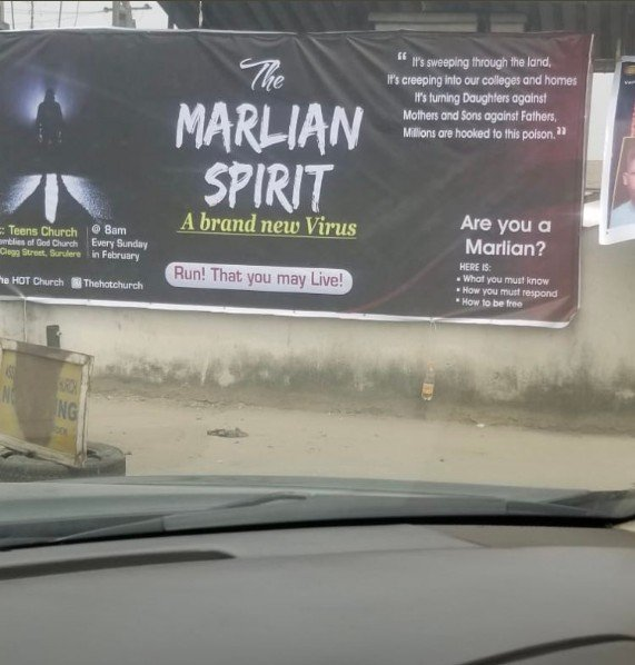 """MAD OOO!! Church Organises Deliverance Service For One Month To Cast Out """"The Marlian Spirit"""" 2"""