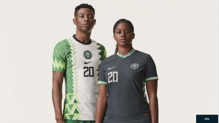 HOT OR THRASH?? Nike Unveils New Nigeria Jersey (See Photos) 2