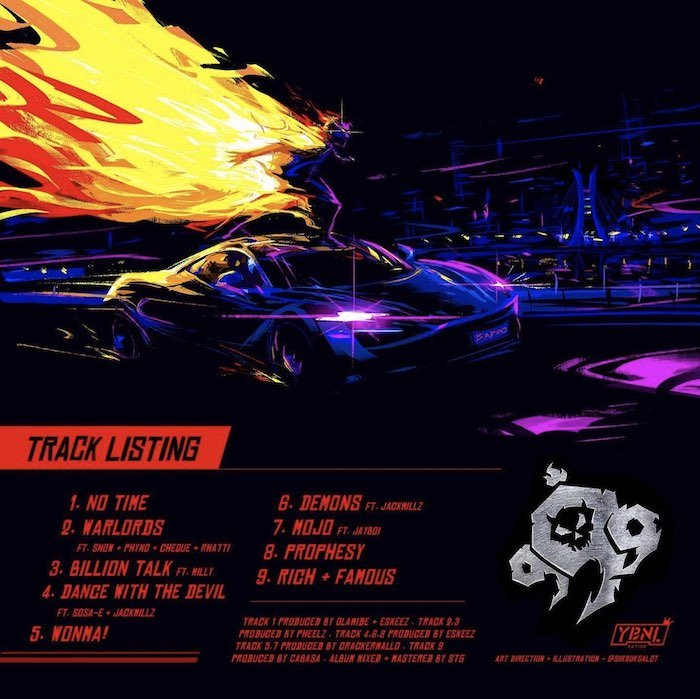 """WOW!!! Olamide Unveils Cover Artwork And Tracklists For His New Album """"999"""" (See Tracklists Here) 2"""