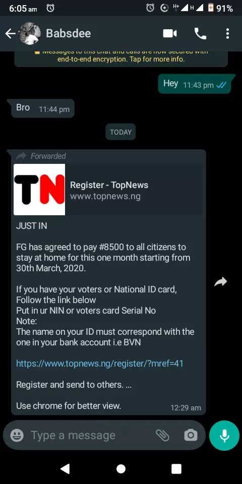 FEDERAL GOVERNMENT PROMISED TO GIVE ALL CITIZENS OF NIGERIA THAT STAYS AT HOME #8500 MONTHLY(FIND OUT WHY) 2
