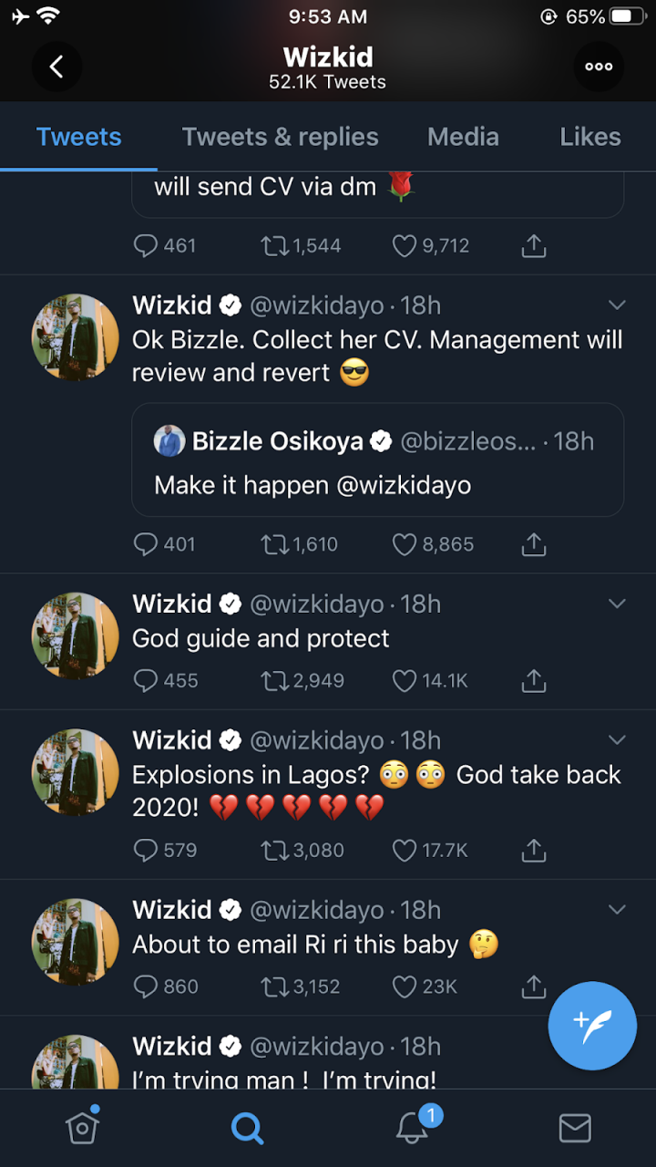 Can It Possible?? STARBOY, Wizkid reveals he wants to impregnate Rihanna 2