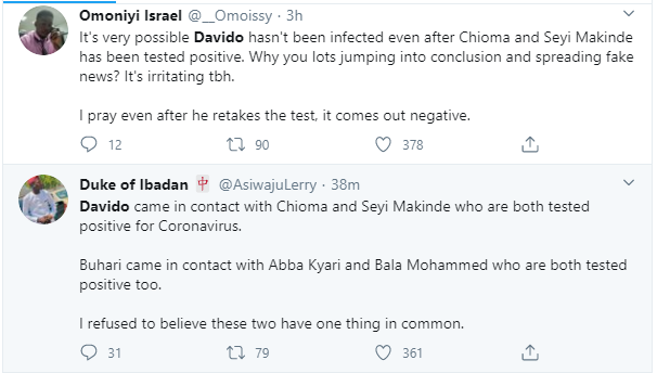 """Davido should redo the coronavirus test again"" – Nigerians react after Governor Makinde tested positive for the virus 10"