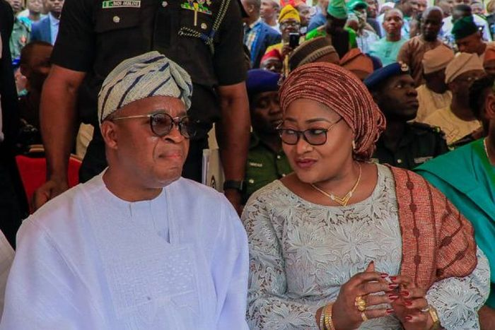 Osun State Governor's Wife Coronavirus Test Result Is Out (Checkout Her Status) 1